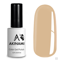 Гель-лак AKINAMI Color Gel Polish тон   №03 Baked Milk