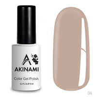 Гель-лак AKINAMI Color Gel Polish тон   №04 Pale Beige