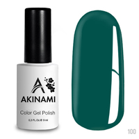 Гель-лак AKINAMI Color Gel Polish тон №100 Aqua