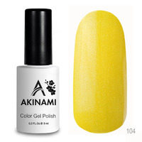 Гель-лак AKINAMI Color Gel Polish тон №104 Sun