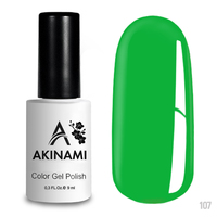 Гель-лак AKINAMI Color Gel Polish тон №107 Lime