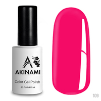 Гель-лак AKINAMI Color Gel Polish тон №109 Cyclamen