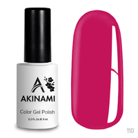 Гель-лак AKINAMI Color Gel Polish тон №110 Fuchsia