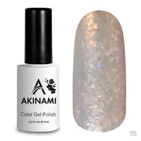 Гель-лак AKINAMI Color Gel Polish тон №115 Bright Glass