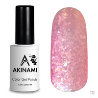 Гель-лак AKINAMI Color Gel Polish тон №117 Violet Glass