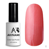 Гель-лак AKINAMI Color Gel Polish тон  №12 Coral Pearl