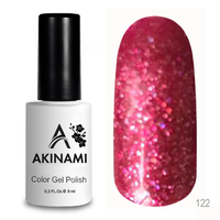 Гель-лак AKINAMI Color Gel Polish тон №122 Pink Salute