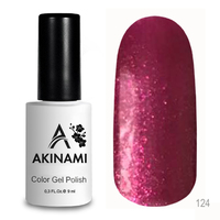 Гель-лак AKINAMI Color Gel Polish тон №124 Berry Dance