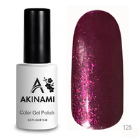 Гель-лак AKINAMI Color Gel Polish тон №125 Cherry Jam