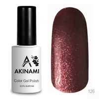 Гель-лак AKINAMI Color Gel Polish тон №126 Hickory