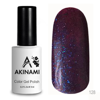 Гель-лак AKINAMI Color Gel Polish тон №128 Purple Fairy
