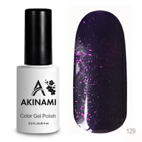 Гель-лак AKINAMI Color Gel Polish тон №129 Magic Violet