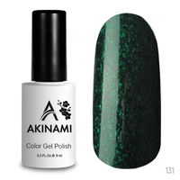 Гель-лак AKINAMI Color Gel Polish тон №131 Cosmo Emerald