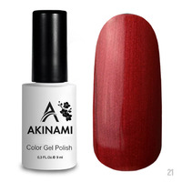 Гель-лак AKINAMI Color Gel Polish тон  №21Copper