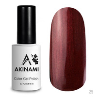 Гель-лак AKINAMI Color Gel Polish тон  №25 Mahagon