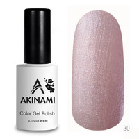 Гель-лак AKINAMI Color Gel Polish тон  №30 Quartz Pearl