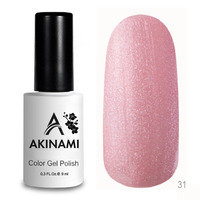 Гель-лак AKINAMI Color Gel Polish тон  №31 Rose Pearl