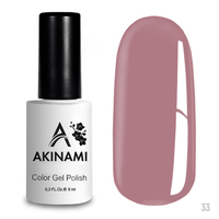 Гель-лак AKINAMI Color Gel Polish тон  №33 Rose Smoke