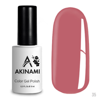 Гель-лак AKINAMI Color Gel Polish тон  №35 Rosebud