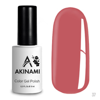 Гель-лак AKINAMI Color Gel Polish тон  №37 Pink Tulip