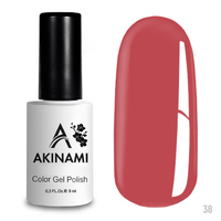 Гель-лак AKINAMI Color Gel Polish тон  №38 Coral Pink