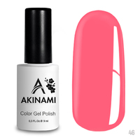 Гель-лак AKINAMI Color Gel Polish тон  №46 Bright Pink