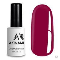 Гель-лак AKINAMI Color Gel Polish тон  №52 Magenta