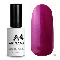 Гель-лак AKINAMI Color Gel Polish тон  №53 Amaranth Pearl