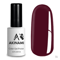 Гель-лак AKINAMI Color Gel Polish тон  №54 Sangria