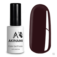 Гель-лак AKINAMI Color Gel Polish тон  №55 Cherry