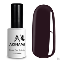 Гель-лак AKINAMI Color Gel Polish тон  №56 Plum