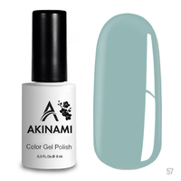 Гель-лак AKINAMI Color Gel Polish тон  №57 Pale Blue