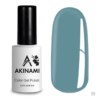 Гель-лак AKINAMI Color Gel Polish тон  №59 Light Blue