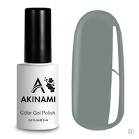 Гель-лак AKINAMI Color Gel Polish тон  №60 Ash Blue