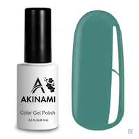 Гель-лак AKINAMI Color Gel Polish тон  №61 Aquamarine