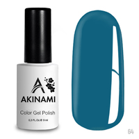 Гель-лак AKINAMI Color Gel Polish тон  №64 Azure