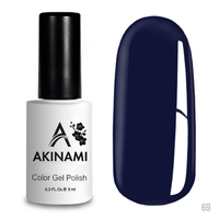 Гель-лак AKINAMI Color Gel Polish тон  №69 Snorkel Blue
