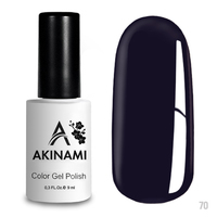 Гель-лак AKINAMI Color Gel Polish тон  №70 Dark Ultramarine