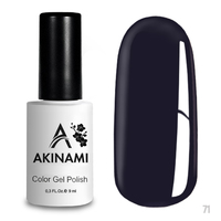 Гель-лак AKINAMI Color Gel Polish тон  №71 Royal Purple