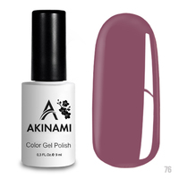 Гель-лак AKINAMI Color Gel Polish тон  №76 Pink Violet