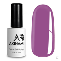 Гель-лак AKINAMI Color Gel Polish тон  №77 Radiant Orchid