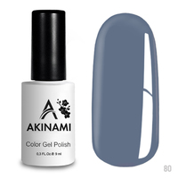 Гель-лак AKINAMI Color Gel Polish тон  №80 Dusty Blue