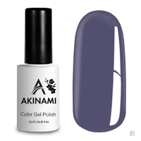 Гель-лак AKINAMI Color Gel Polish тон  №81 Lilac Grey
