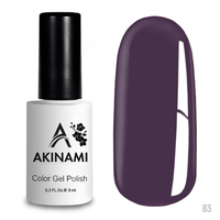 Гель-лак AKINAMI Color Gel Polish тон  №83 Dusty Purple
