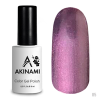 Гель-лак AKINAMI Color Gel Polish тон  №85 Purple Pearl