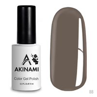 Гель-лак AKINAMI Color Gel Polish тон  №88 Gray Quartz