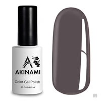 Гель-лак AKINAMI Color Gel Polish тон  №89 Platinum Gray