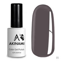 Гель-лак AKINAMI Color Gel Polish тон  №89 Platinum Gray