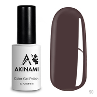Гель-лак AKINAMI Color Gel Polish тон  №90 Mokko