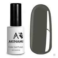 Гель-лак AKINAMI Color Gel Polish тон  №91 Aluminum